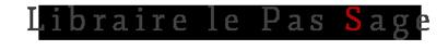 Librairie Le Pas Sage