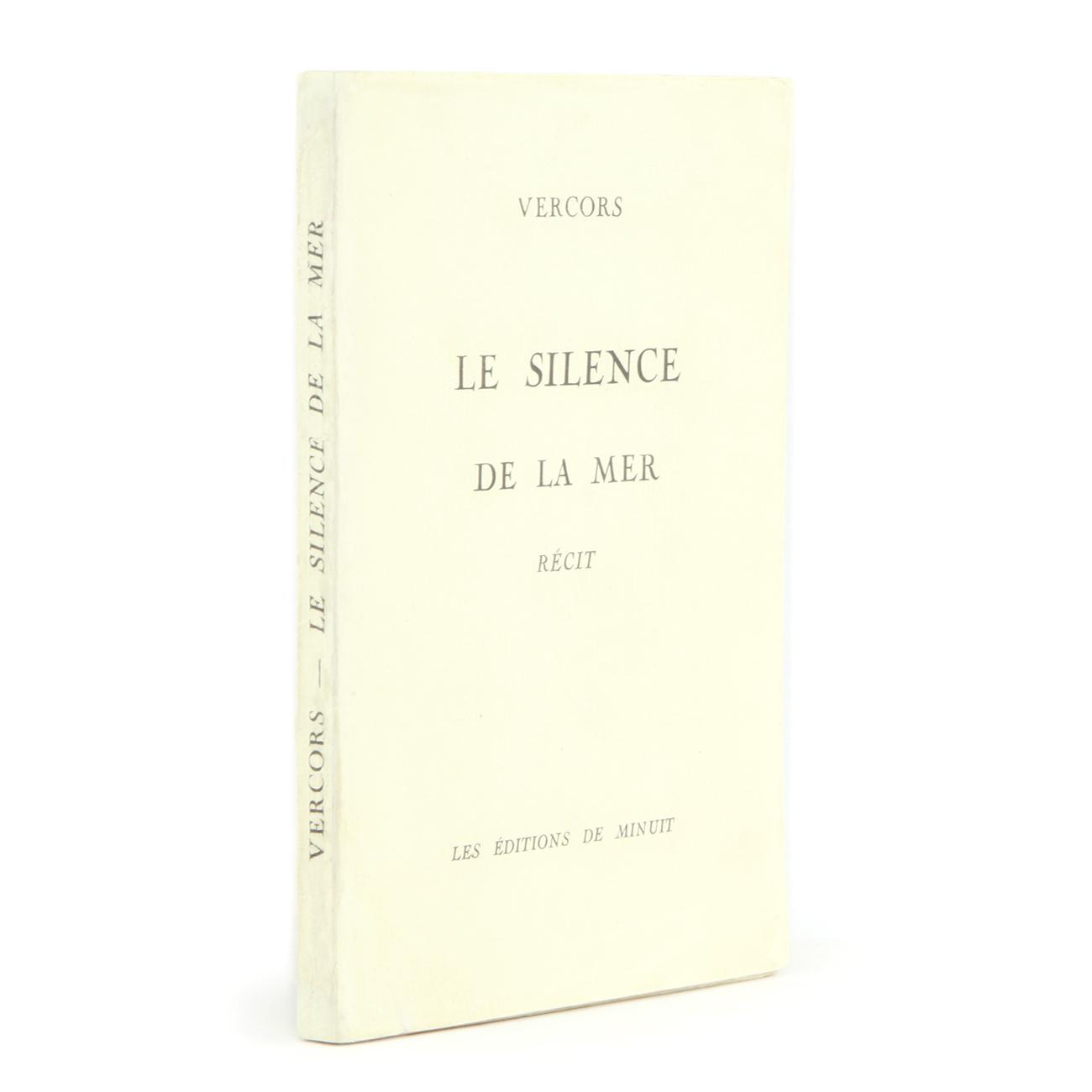 Le Silence De La Mer Book