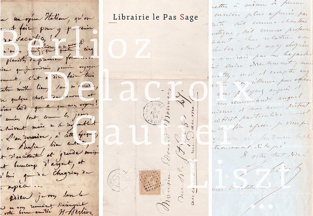 Berlioz, Delacroix, Gautier, Liszt …