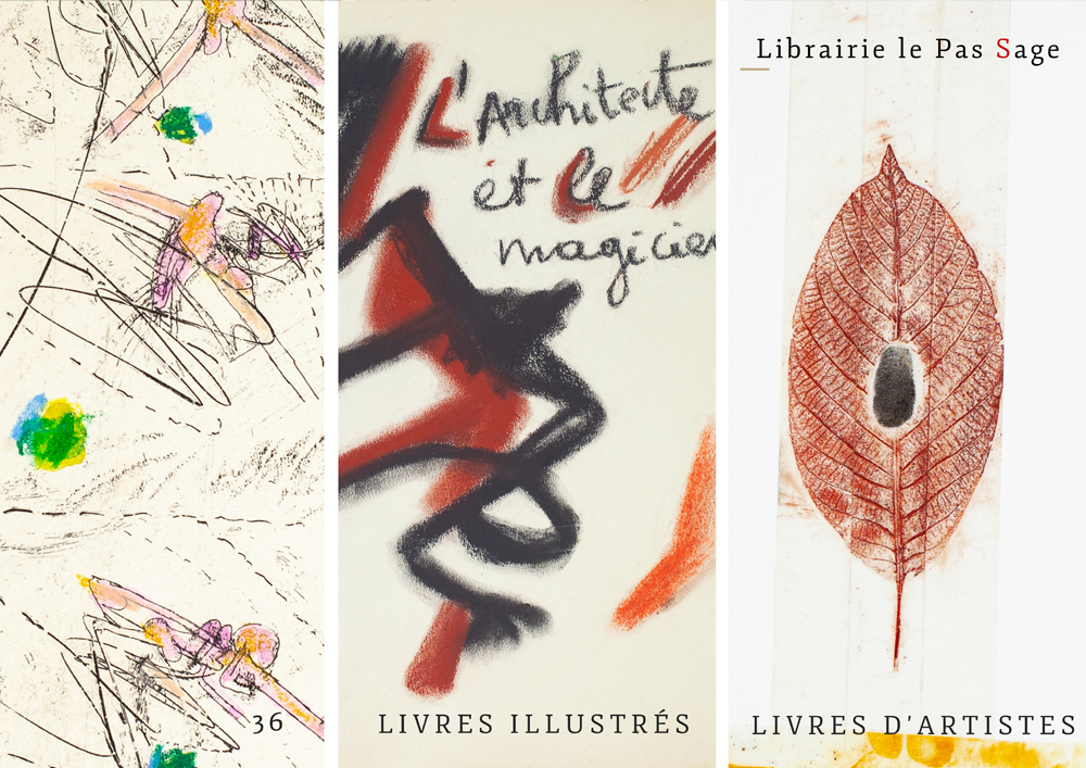 36 livres illustrés · livres d'artistes · 1935 - 2011